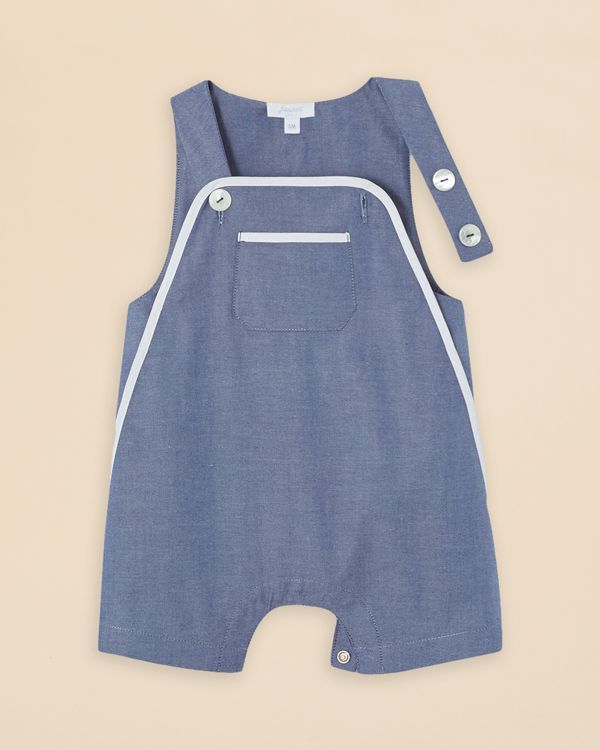 Jacadi Infant Boys' Chambray Overalls - Sizes 3-12 Months