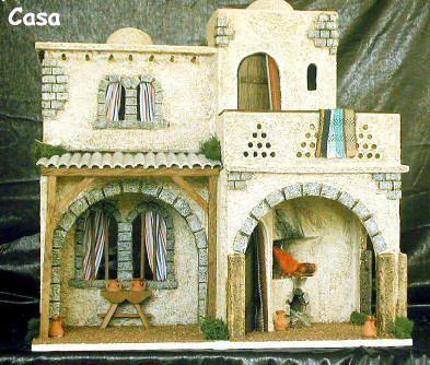 425/14-Casa con balcón 14 cm