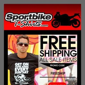 SportBikeTshirts.com FREE SHIPPING on all sale items! Promo Code: FREESHIP. #sportsbike #motorcycle #sportbike #culture #graphic tee #teeshirt #shopping #bike #racing #Hayabusa #Suzuki SportBikeTshirts.com #sportbike #motorcycle #apparel #tshirt #graphic #sport #bike #tee #design #shirt #casual #promo #email