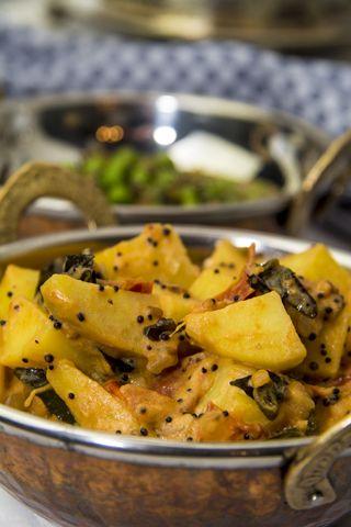 [indisch] Kartoffel-Tomaten-Curry - Aloo Tamatar
