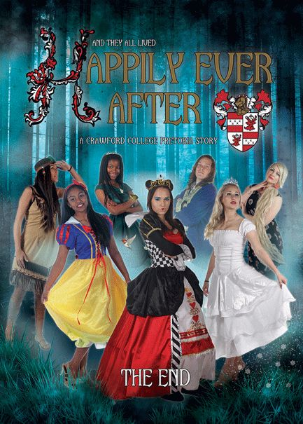 Fairy Tale Yearbook Theme: Back Cover