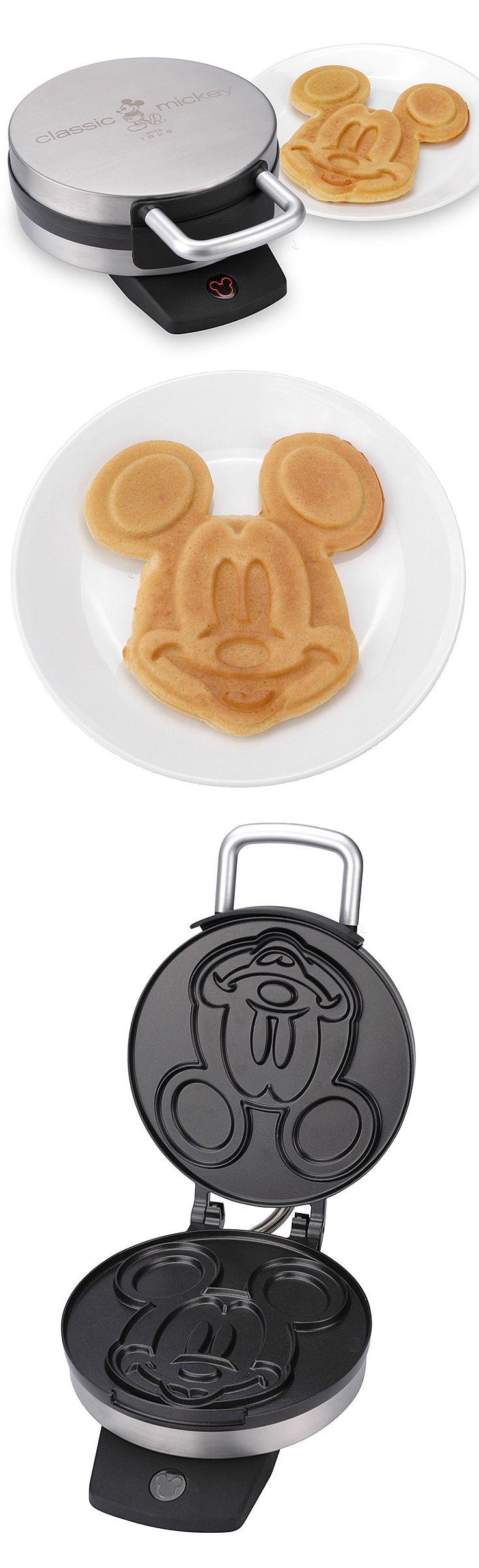 ♣ Classic Mickey Mouse waffle maker! $19.99 at Zulily.com Yaaaayyyy!!!!