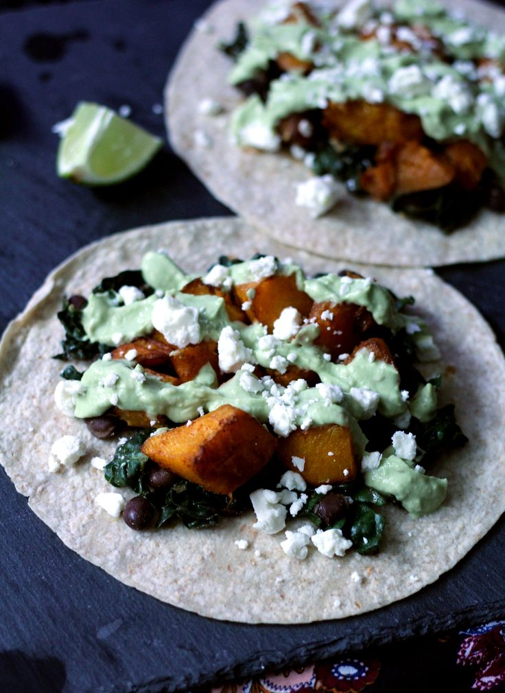 Happy taco Tuesday! To help you celebrate I'm sharing a recipe inspired by one of my favorite Somerville restaurants: roasted butternut squash tacos with avocado crema. This month's Recipe Redux Ch…