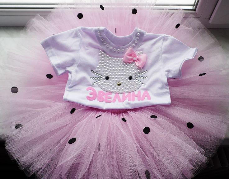 Pink Hello Kitty Birthday Tutu Set hello kitty birthday