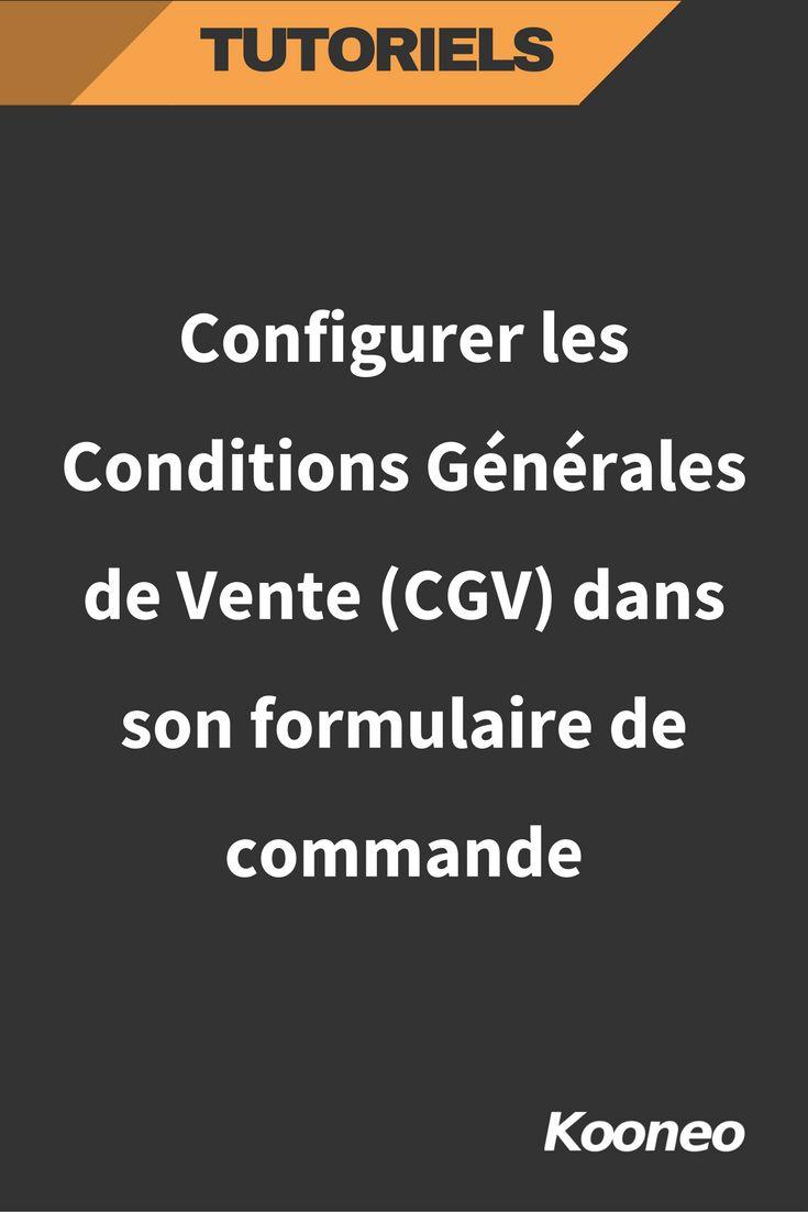 [TUTORIEL] Configurer les Conditions Générales de Vente (CGV) dans son formulaire de commande #Infopreneur #Ecommerce #Kooneo #Tutoriel #Cgv #Conditionsgeneralesdevente : http://help.kooneo.com/article/291-configurer-conditions-generales-vente-cgv-dans-formulaire-commande