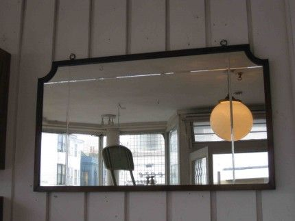 Edwardian mantle mirror — Pigeon Vintage Furniture