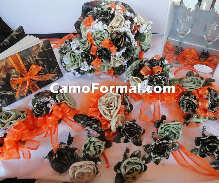 Various Camouflage Floral Items