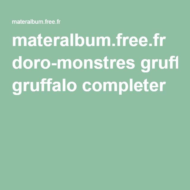 materalbum.free.fr doro-monstres gruffalo completer