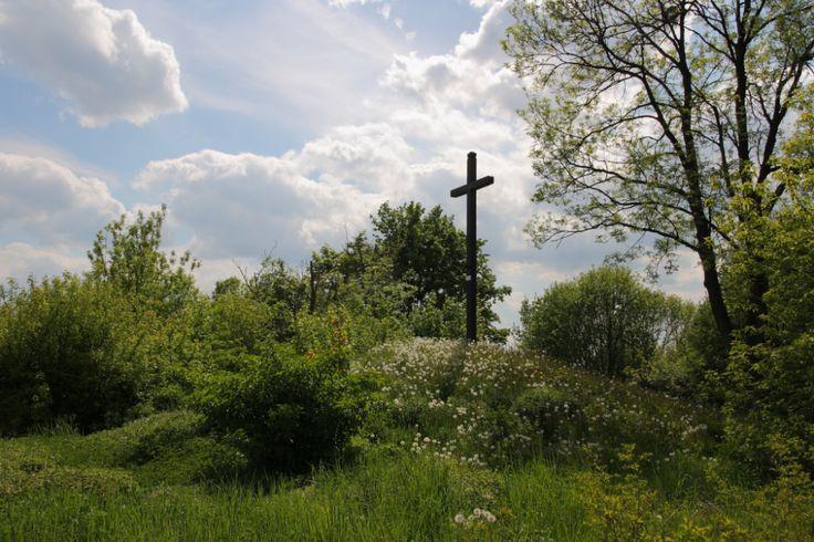Przydrożne kopce, krzyże | Powolne dreptanie po Roztoczu