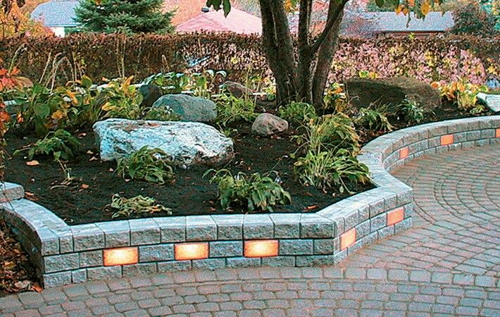 25 best Unique Retaining Wall Ideas images on Pinterest ... on Backyard Brick Wall Ideas id=44249