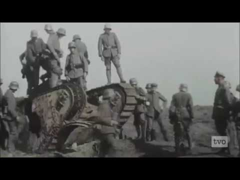 This is a compilation of footage from the First World War depicting its violence. Music: The Bombs - Dark5 Footage: Apocalypse WW1