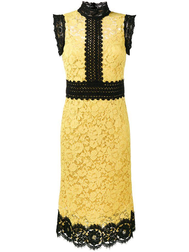 Dolce & Gabbana кружевное платье без рукавов
