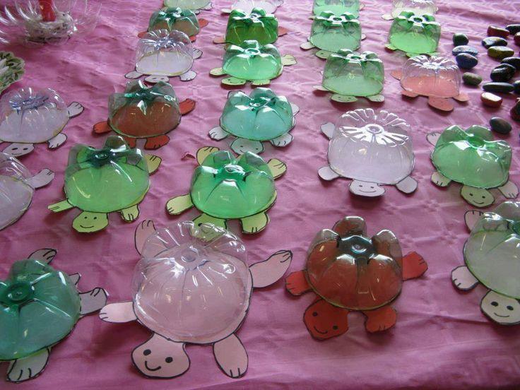 Bottle bottom turtles