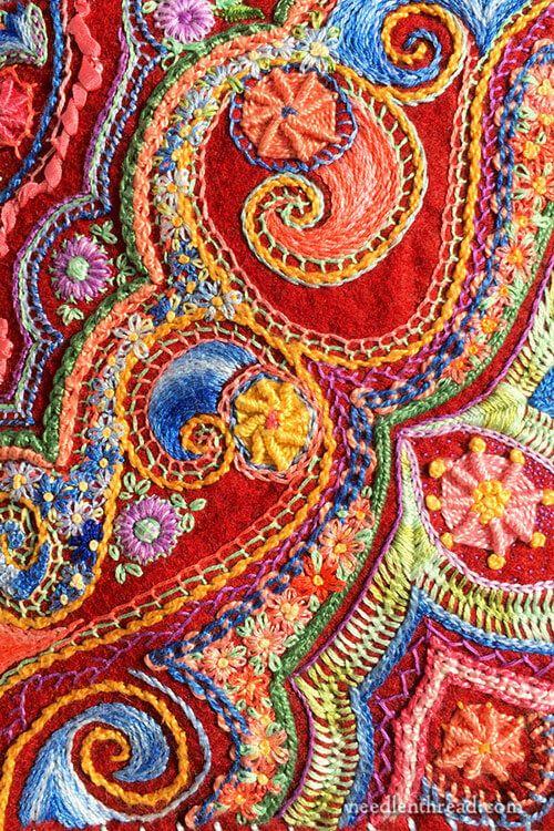 Embroidered Felt Needlebook: An Old Friend, Still Going Strong!