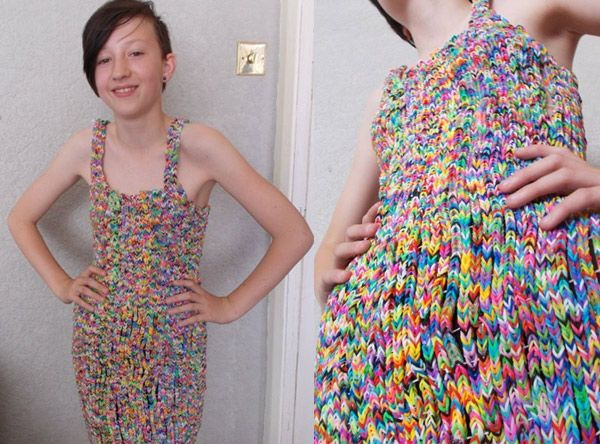 Rainbow Loom Dress Sells for $291,000 on eBay: It Cost Almost Nothing to Make | Cambio