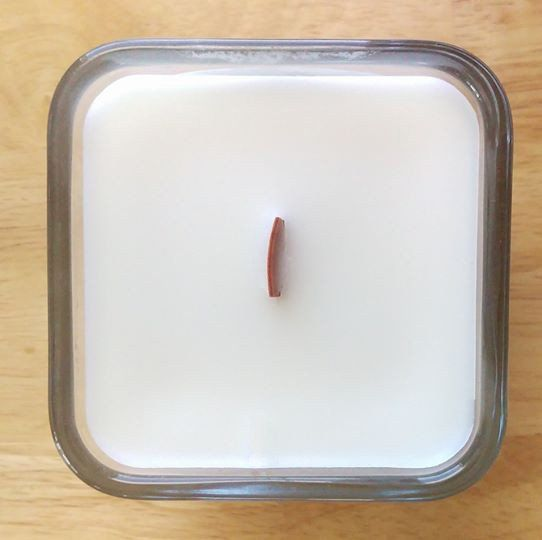 This is my happy candle! All Natural Lemongrass Essential Oil Candle https://thelmajean.com/collections/home/products/all-natural-lemongrass-essential-oil-candle
