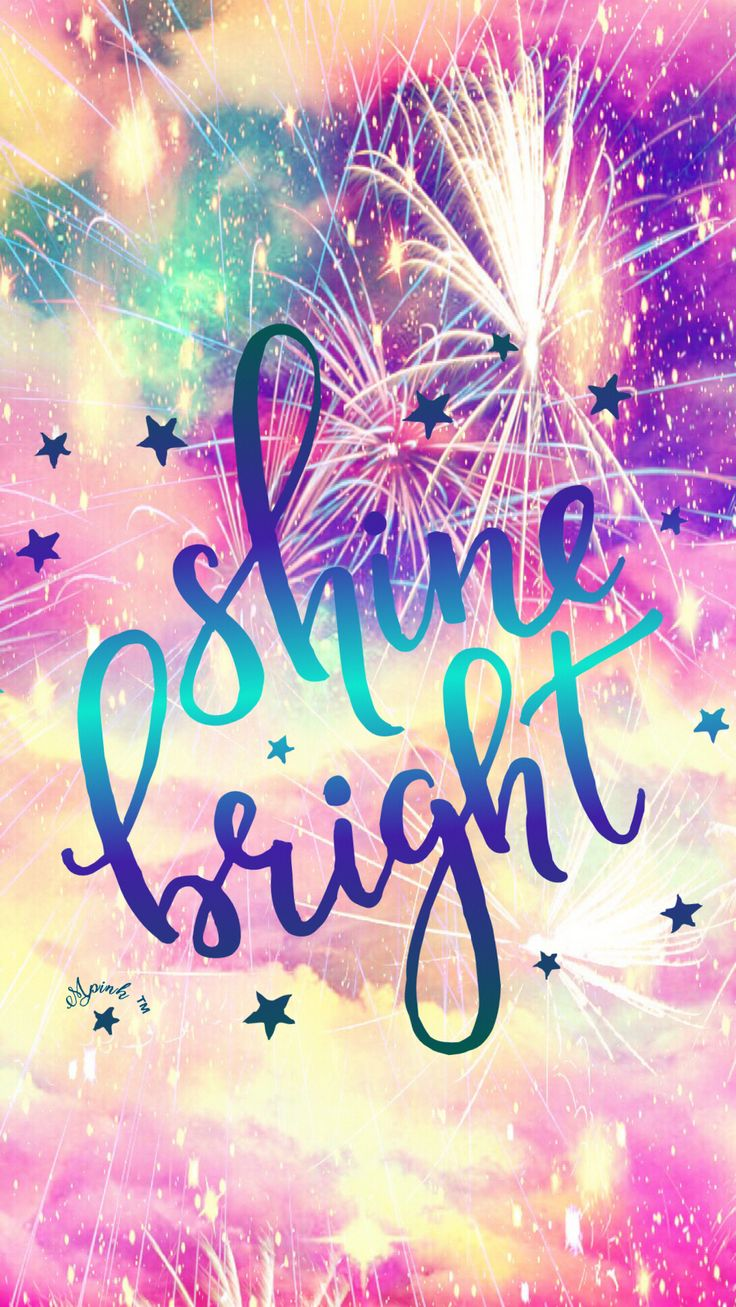 Shine Bright Fireworks Wallpaper