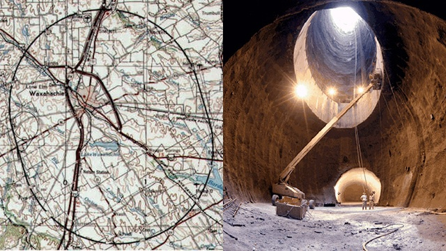 This Is World's Largest Super Collider That Never Was -- and the place at which I never worked...