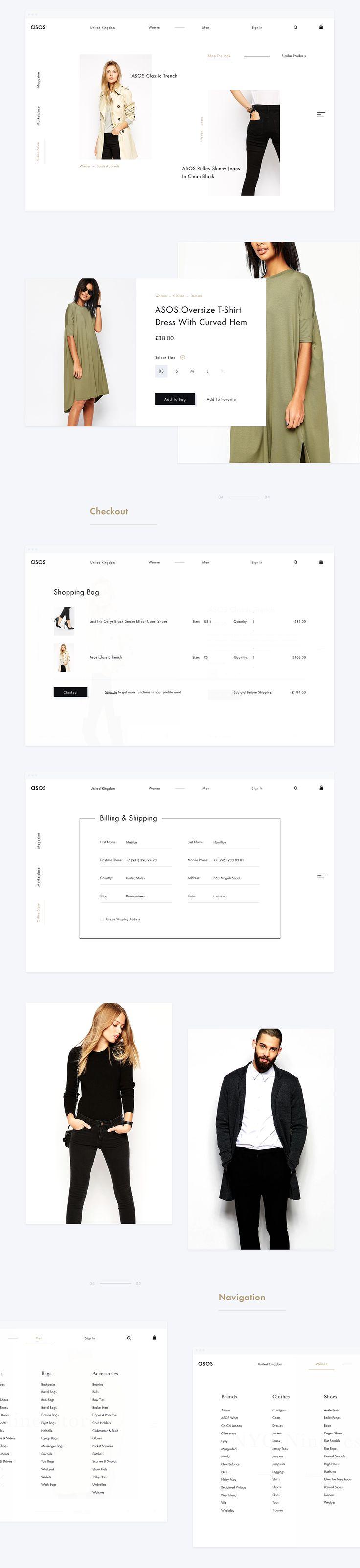 Asos UI Design Concept