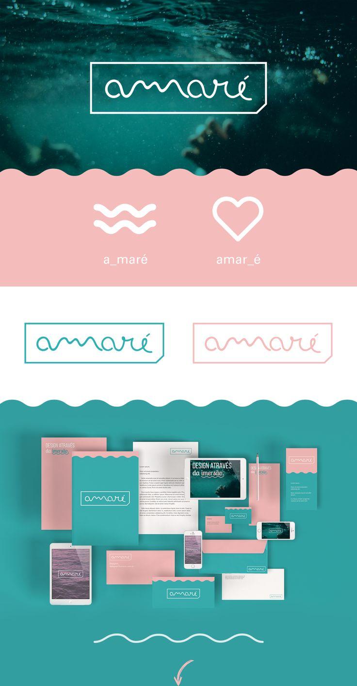 Amaré   Identidade Visual on Behance