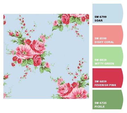 Cath Kidston Paint Colour Chart