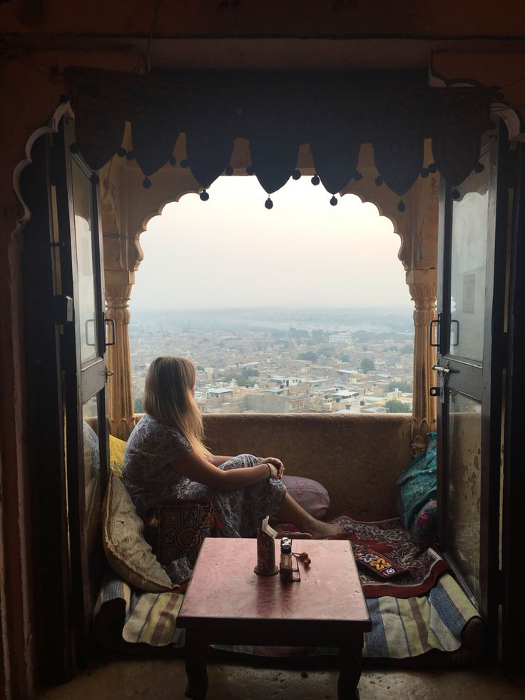Feeling so grateful to be sitting up in a little home stay built into the fort in this insanely beautiful place! Jaisalmer, India.  Fleetwood Collection