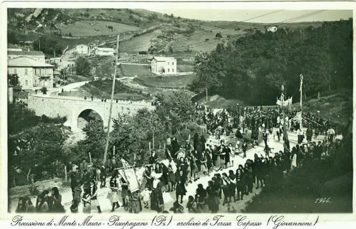 Pescopagano: Monte Mauro