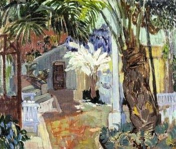 Muumittajan Muumi-blogi: Tove Janssonin 1930- ja 1940-lukujen maalauksia