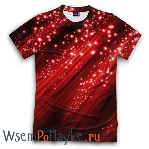 Мужская футболка 3D с полной запечаткой Красный блеск - интернет магазин WsemPoMayke.Ru http://wsempomayke.ru/product/manshortfull/994411  Доставка по России курьером или почтой, оплата при получении. Мужская футболка 3D с полной запечаткой Красный блеск купить с доставкой в интернет магазине > http://wsempomayke.ru/product/manshortfull/994411