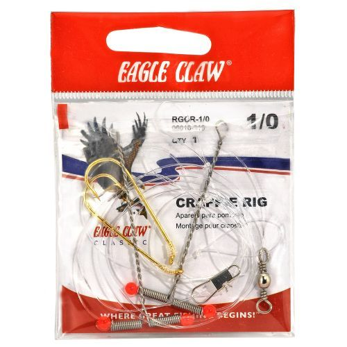 Eagle Claw Crappie Rig - Fishing Tackle And Baits, Weights Floats And Leaders at Academy Sports
