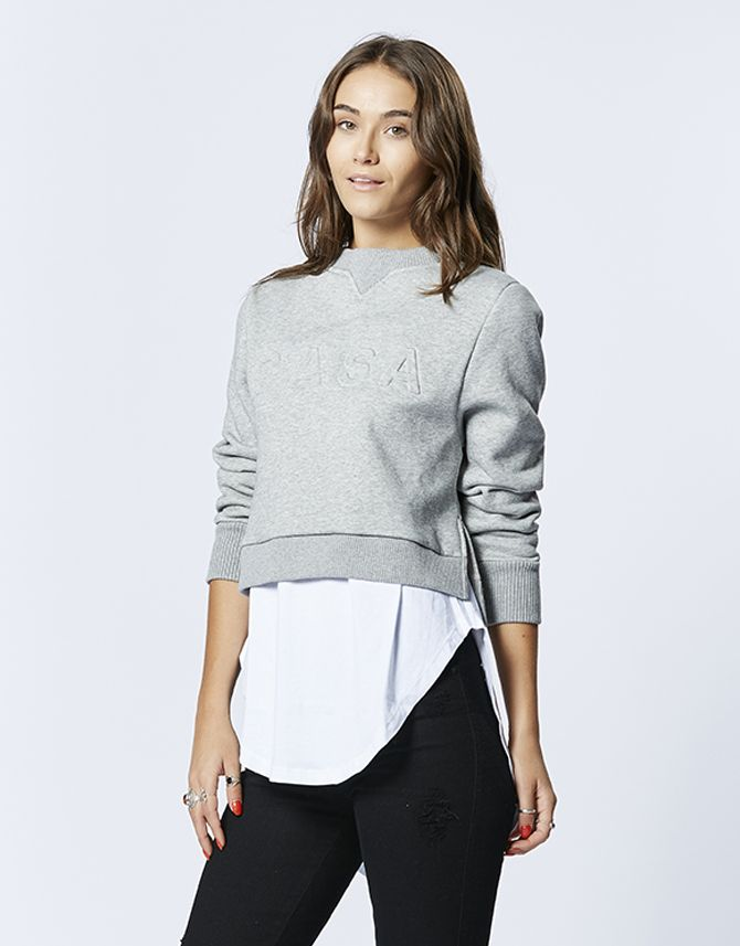 casa kuma - Casa Crop Sweater