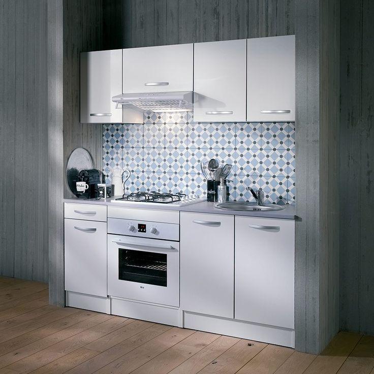 Petit espace kitchenette cuisine spoon fa ades - Evier petit espace ...
