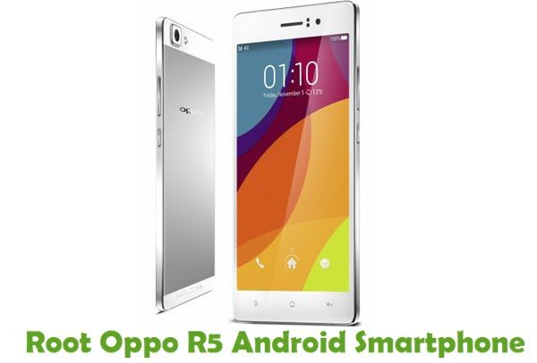 Find out the tutorial with step by step instructions to root Oppo R5 Android smartphone using iRoot one click Rooting software.