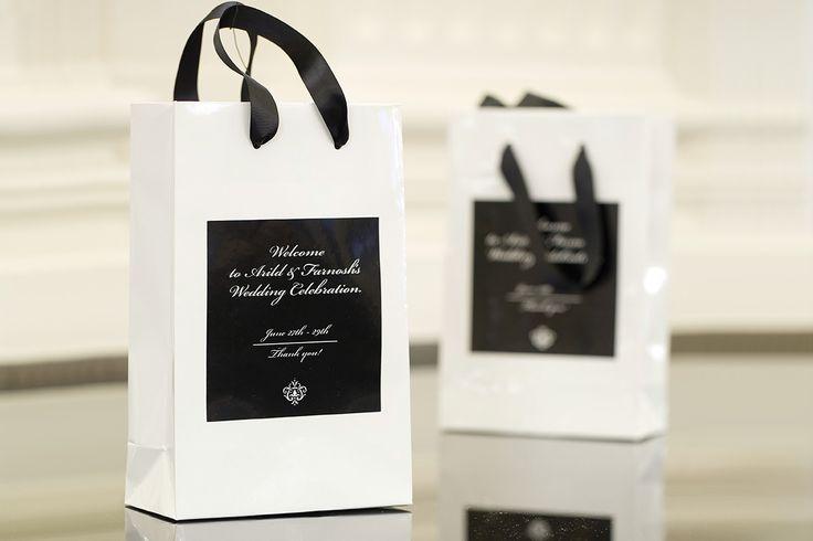 Dárková svatební taška