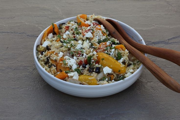 Another one of our 'Family Favourites' ProWare's Roasted vegetable Orzo. Super tasty and easy to make with minimal hands on time.