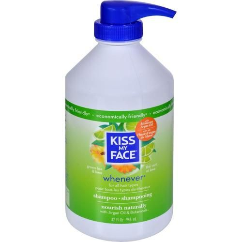 Kiss My Face Whenever Shampoo Green Tea And Lime - 32 Fl Oz - 0143396