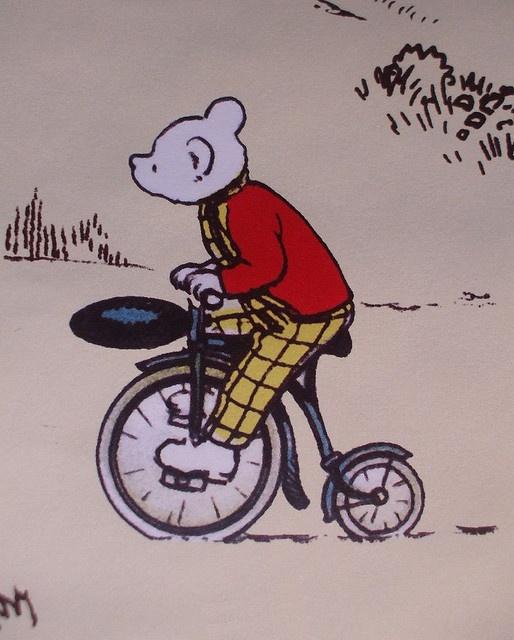 RUPERT | Cycling Rupert Bear |