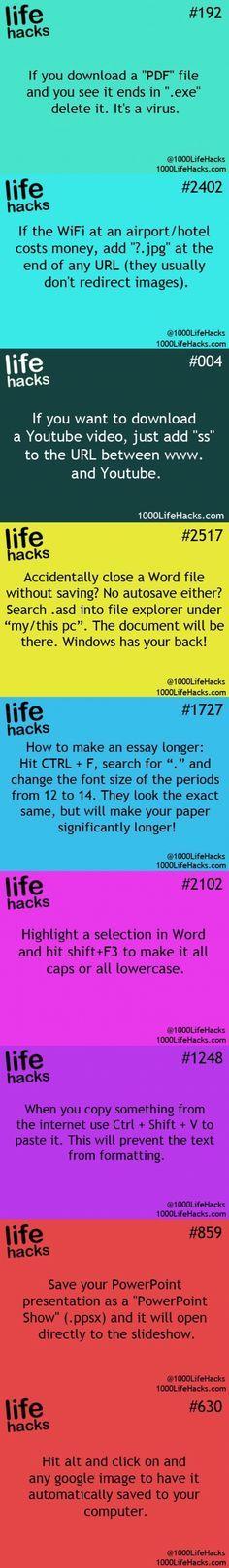 Life hacks 1000
