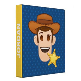 Cowboy 3 Ring Binders | Zazzle