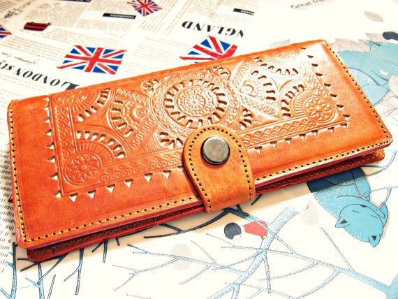Kate Continental Vintage Genuine Leather Women Wallet by nororoto