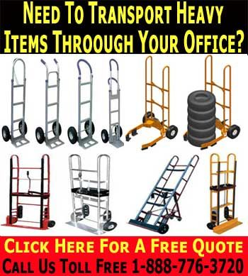 Heavy Duty Hand Truck & Hand Dollies.  Heavy Duty Hand Truck & Hand DolliesWhat is the difference between pneumatic tires and flat free tires? A pneumatic tire has thicker rubber than standard tires.  This outer rubber wall surrounds a core of compressed air. This makes them more easy to steer, and it better stabilizes sensitive loads which often vibrate lose when rolled across uneven surfaces on standard tires.
