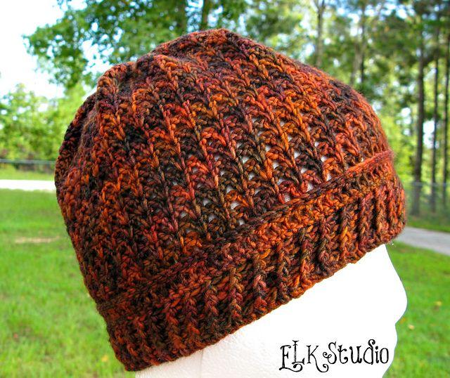 Pumpkin Spice by Kathy Lashley. malabrigo RAstita in Volcan colorway. Crochet