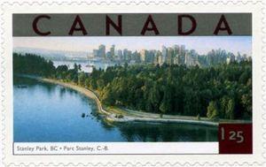 Tourist Attractions - Stanley Park, Vancouver B.C.