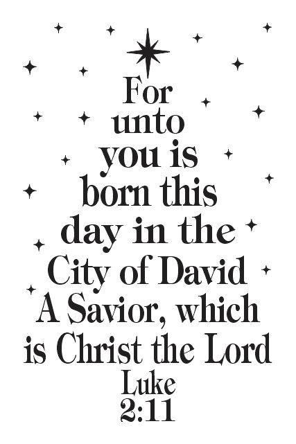 """Primitive/vacances de Noël au POCHOIR ** pour car vous êtes né ce jour... Christ le Seigneur ** 12 """"x 18» pour les traces de peinture, aérographe, artisanat, Art mural"""
