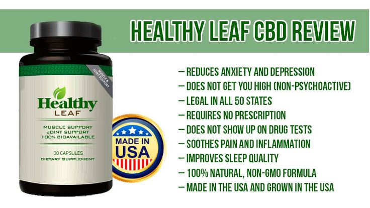 Healthy Leaf CBD Review: Reduces Anxiety, Depression and Stress | Is It Legal?