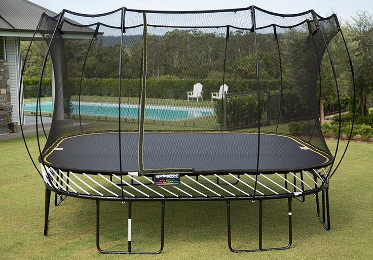 Springfree 13 foot Jumbo Square Trampoline Review