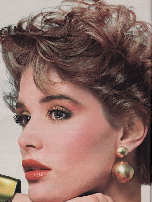 I don't care if it's from the 80's, this makeup is gorgeous and I'll definitely be rocking it.