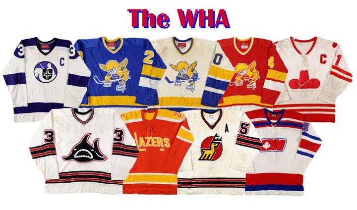 world hockey association jerseys