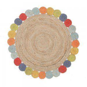 Round Tutti Fiesta Hand Braided Rug
