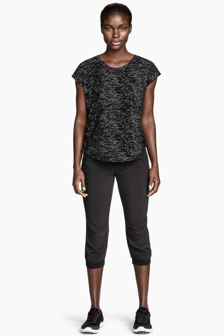 Športové nohavice 3/4dĺžky | H&M